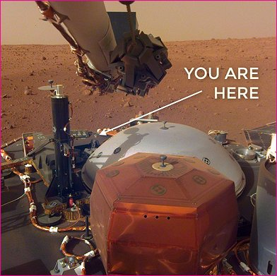 Ruta was fortunate to have been able to take the 6 month trip on Insight and land on Mars