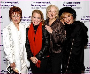 With Marion Ross, Juliet Mills and Betty Buckley