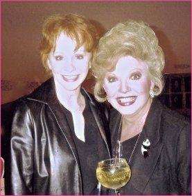 Ruta and Reba McEntire