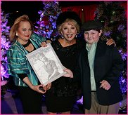 With Jack Jones, Carol Connors and Leo Milmet