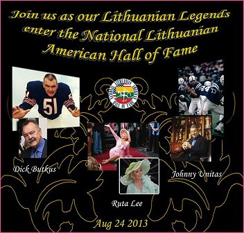 On August 24th, Ruta will be inducted into The National Lithuanian American Hall of Fame