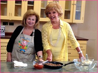 Ruta Lee joins host Norma Zager to cook one her favorite recipes- Texas Dip