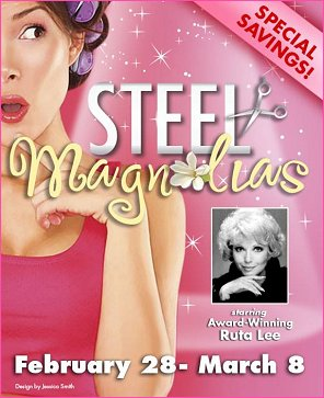 Ruta is headed to Texas to do Steel Magnolias at Casa Ma�ana in Fort Worth