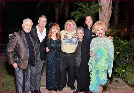 With Michael Childers,Ted Casablanca, Judy Tenuta, Bruce Vilanch, Barbara Boxer and Michael Corbet