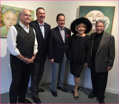 The latest Thalians and Operation Mend event was held at The Brian Marki Gallery in Palm Springs