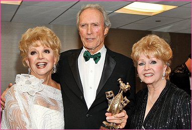 The Thalians with Clint Eastwood and Debbie Reynolds